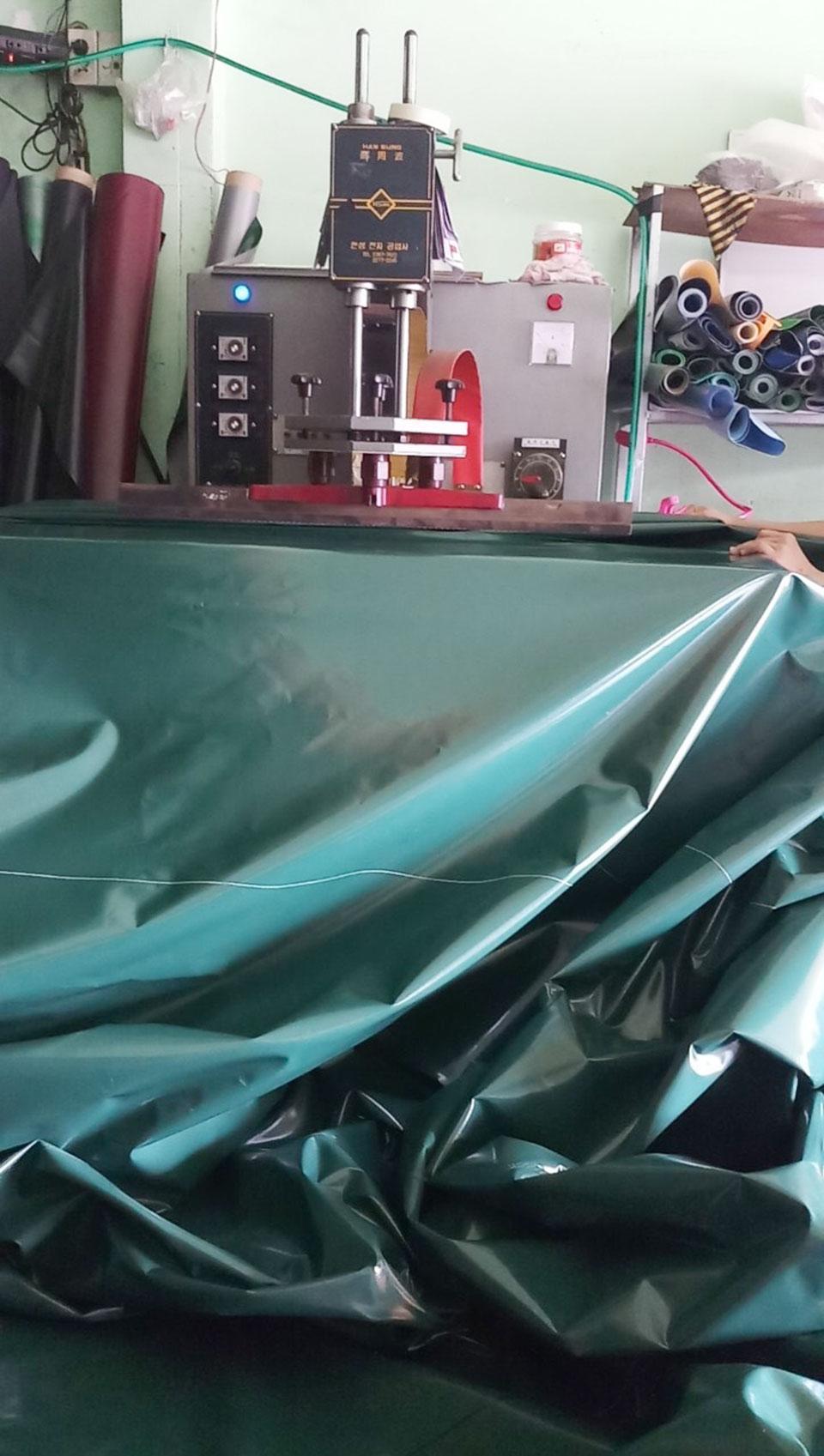May ép bạt xếp bạt kéo tại Đồng Nai