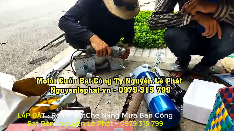 Motor Cuốn Bạt Mái Hiên Mái Xếp Tại Đồng Nai